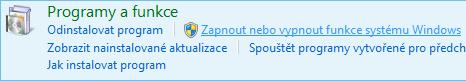 Povolení funkce v systému Windows