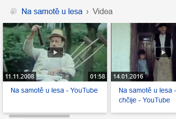 Videa - upoutávka