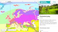 Podnebné pásy v Evropě - klikněte pro odkaz do Atlasu