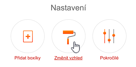 Nastavení vzhledu domovské stránky Seznam.cz